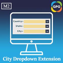 Magento 2 City Dropdown Extension