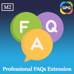 Magento 2 Professional FAQs extension