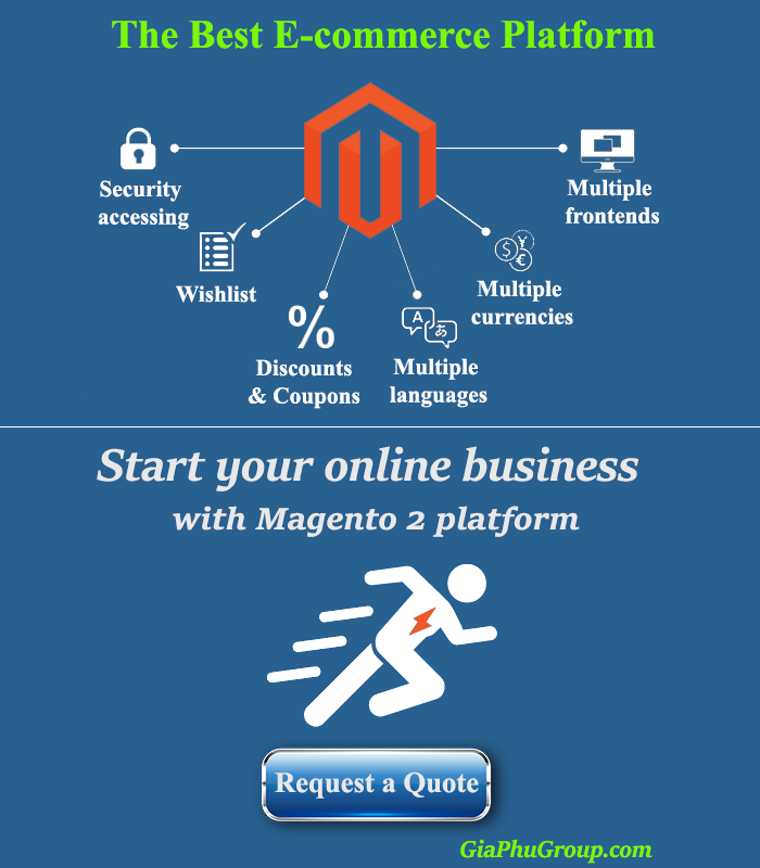 Start your online business with Magento 2 platform